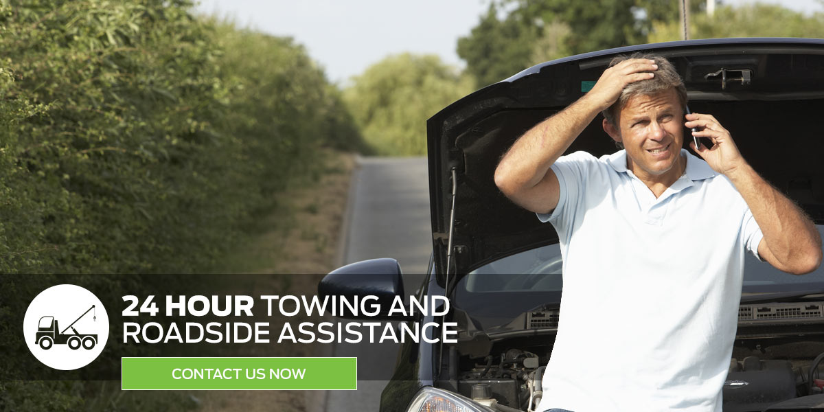 24 Hour Towing and Roadside Assistance: Contact Us Now