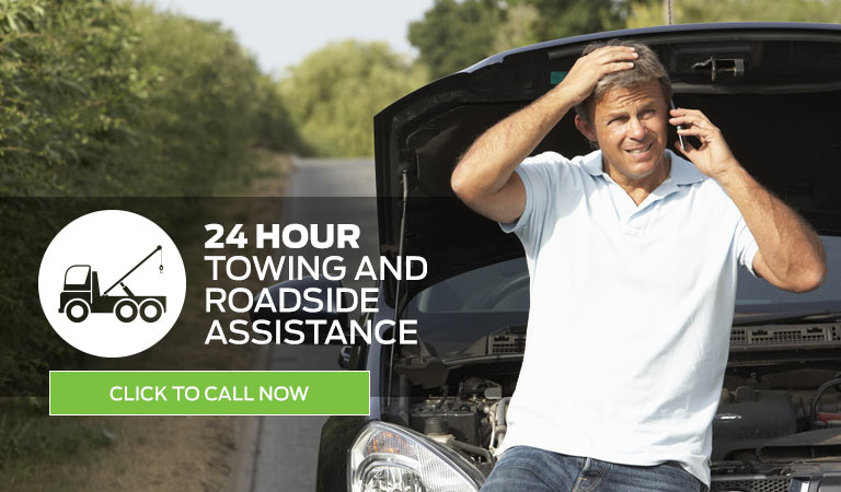 24 Hour Towing and Roadside Assistance: Click to Call
