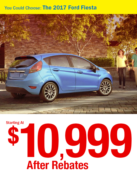 2017 Ford Focus: $10,999 After Rebates