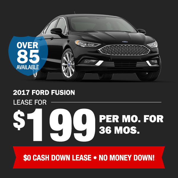 2017 Ford Fusion: Lease for $199