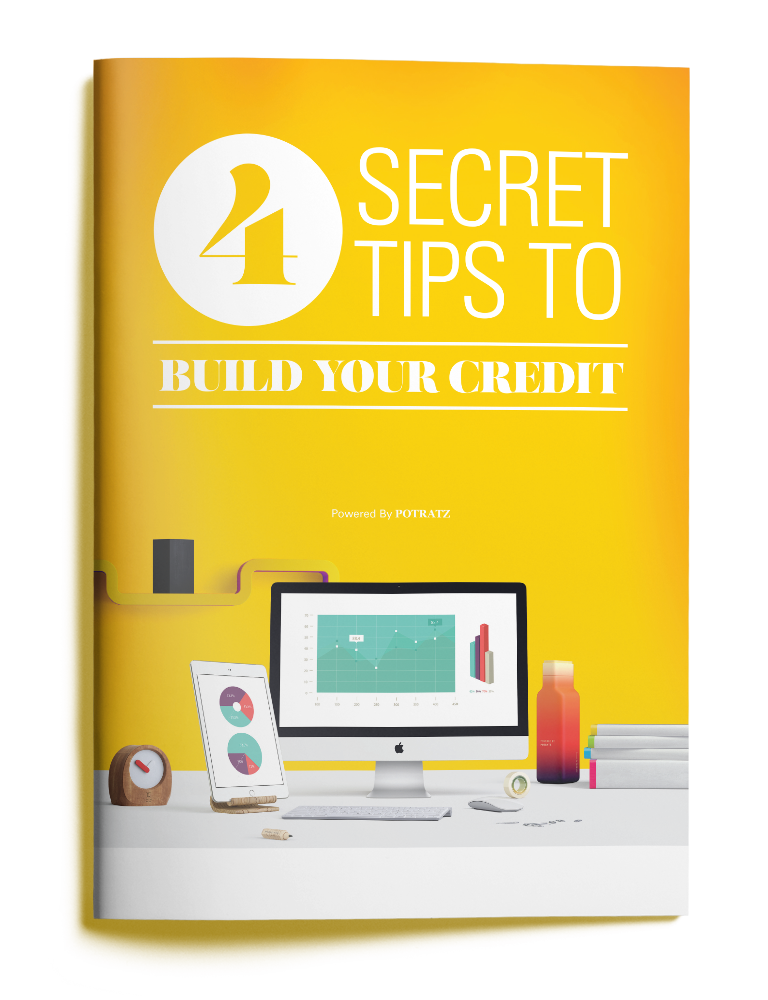 4 TIPS TO BUILD YOUR CREDIT BROCHURE