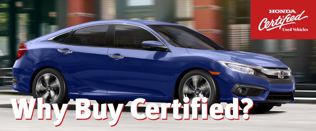Why Buy Certified?
