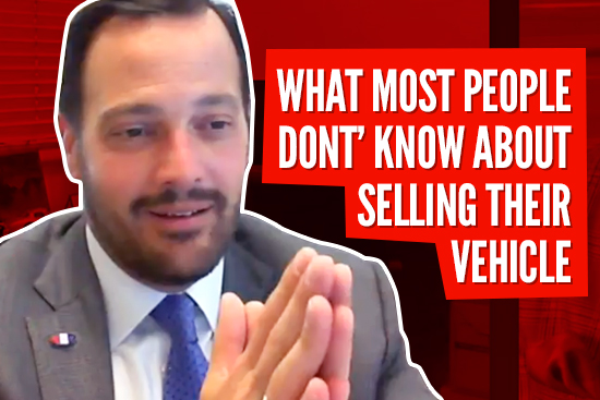 Picture of Sales Manager with hands pressed together – WHAT MOST PEOPLE DON'T' KNOW ABOUT SELLING THEIR VEHICLE