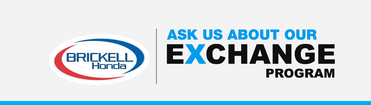 Dealer logo, ASK US ABOUT OUR EXCHANGE PROGRAM
