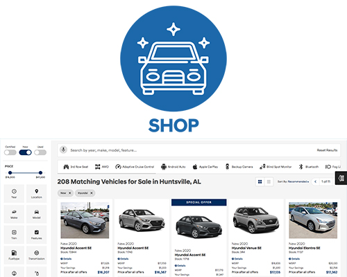 Shop online new and used