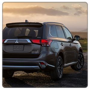 The 2018 Outlander PHEV on a rocky road