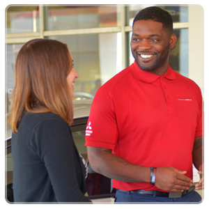Bill Penney team meber helps a customer