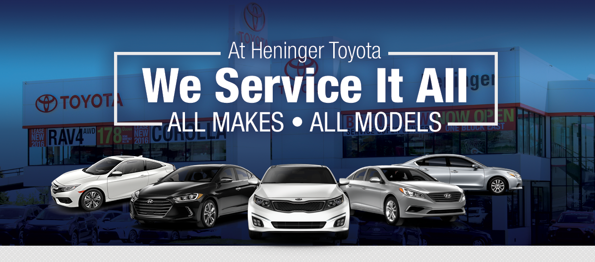 New Toyota Tacoma >> We Service All Makes, All Models   Heninger Toyota serving Calgary