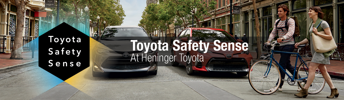 Toyota Safety Sense: at Heninger Toyota