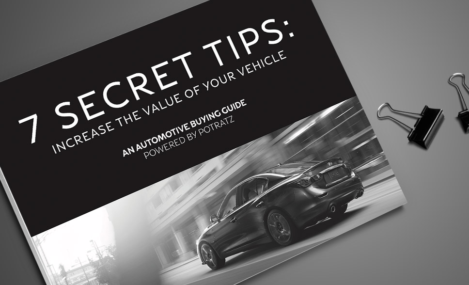 7 Secret Tips To Increase Trade-In Value
