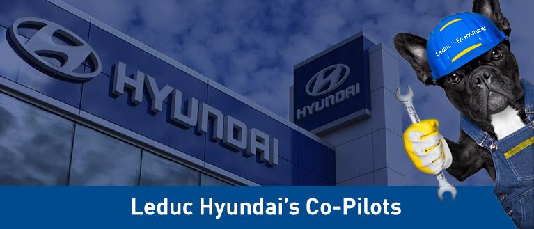Leduc Hyundai's Co-Pilots'