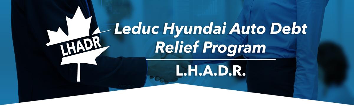 Leduc Hyundai Auto Debt Relief Program
