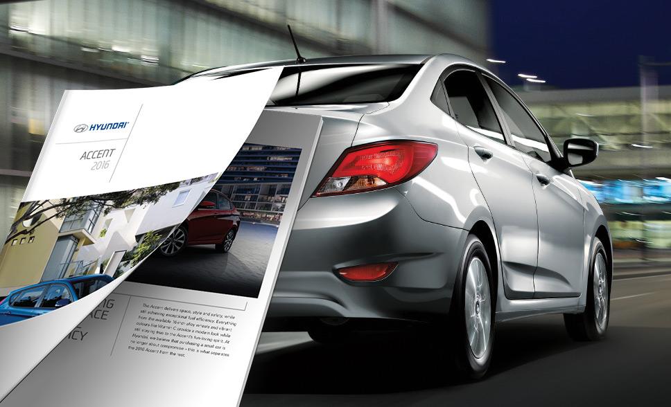 2016 Accent Sedan Brochure