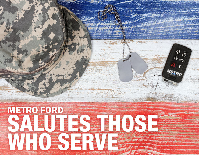 etro Ford Salutes Those Who Serve