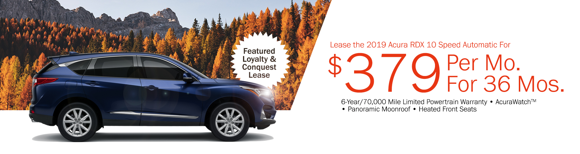 This Months Specials - Acura mdx lease specials