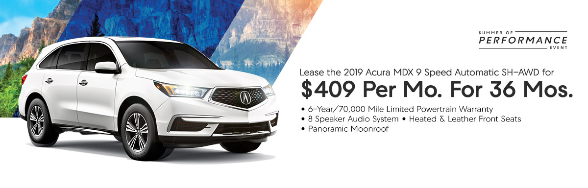 Acura Mdx Lease >> This Month S Specials