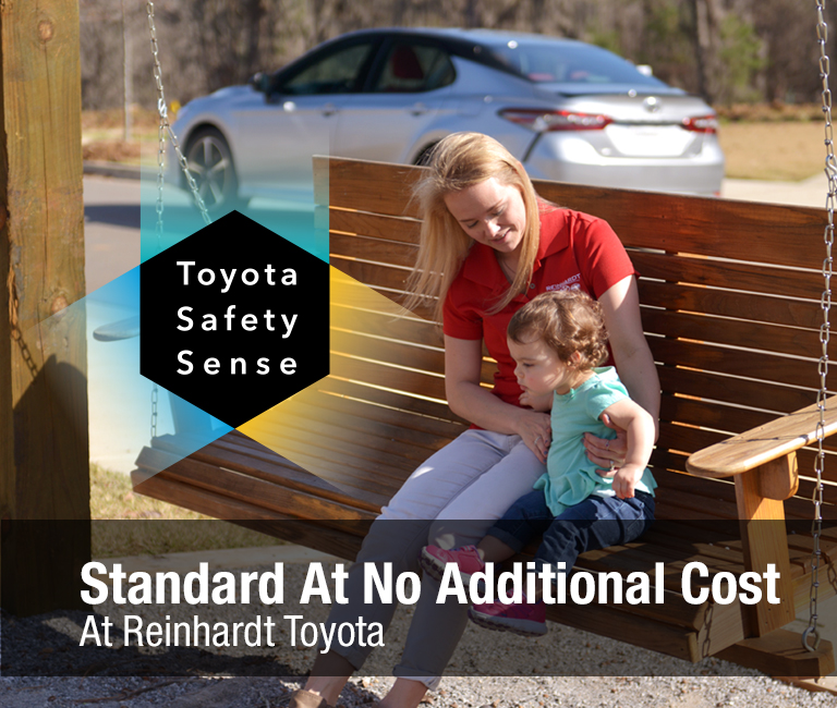 Toyota Safety Sense: Standard at No Additional Cost at Reinhardt Toyota