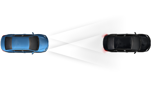 Depiction of the Automatic High Beams