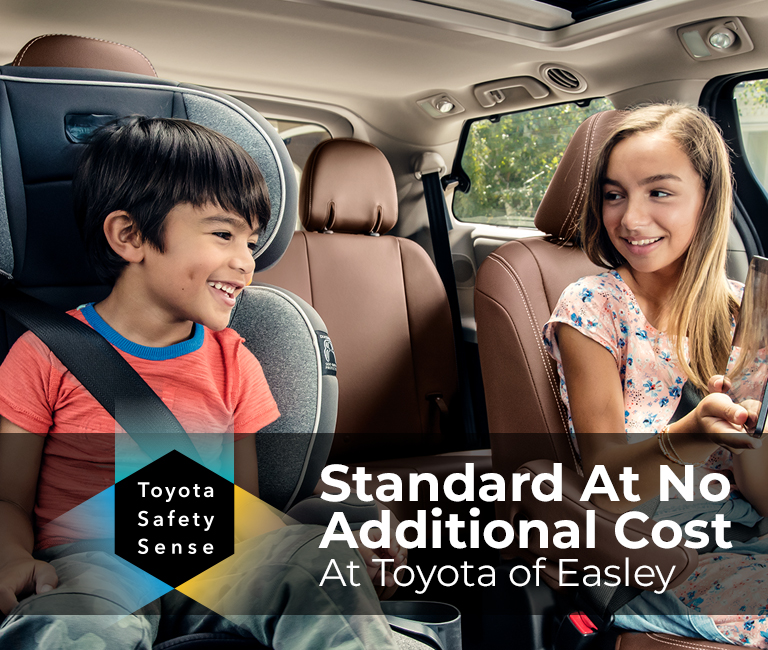 Toyota Safety Sense: Standard at No Additional Cost at Toyota of Easley