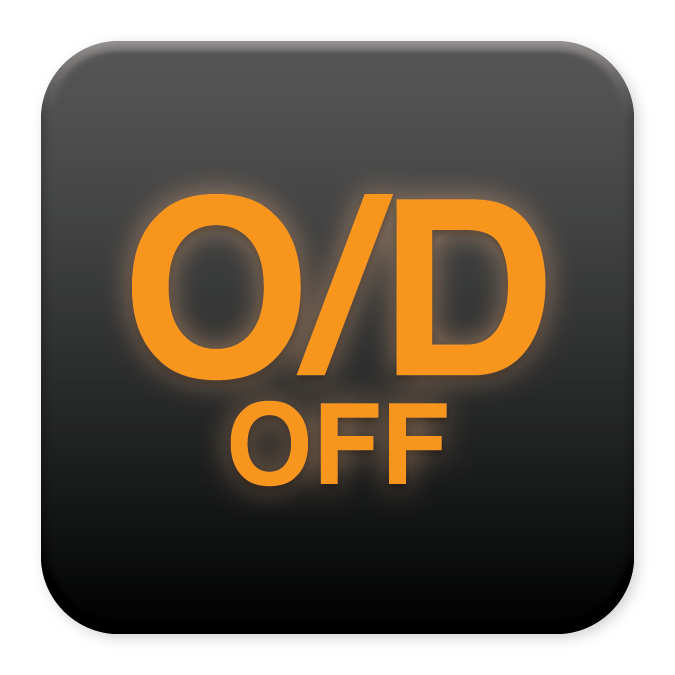 Overdrive/Sport Off light