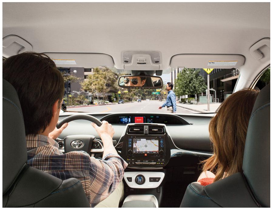 2016 Prius Interior Technologies