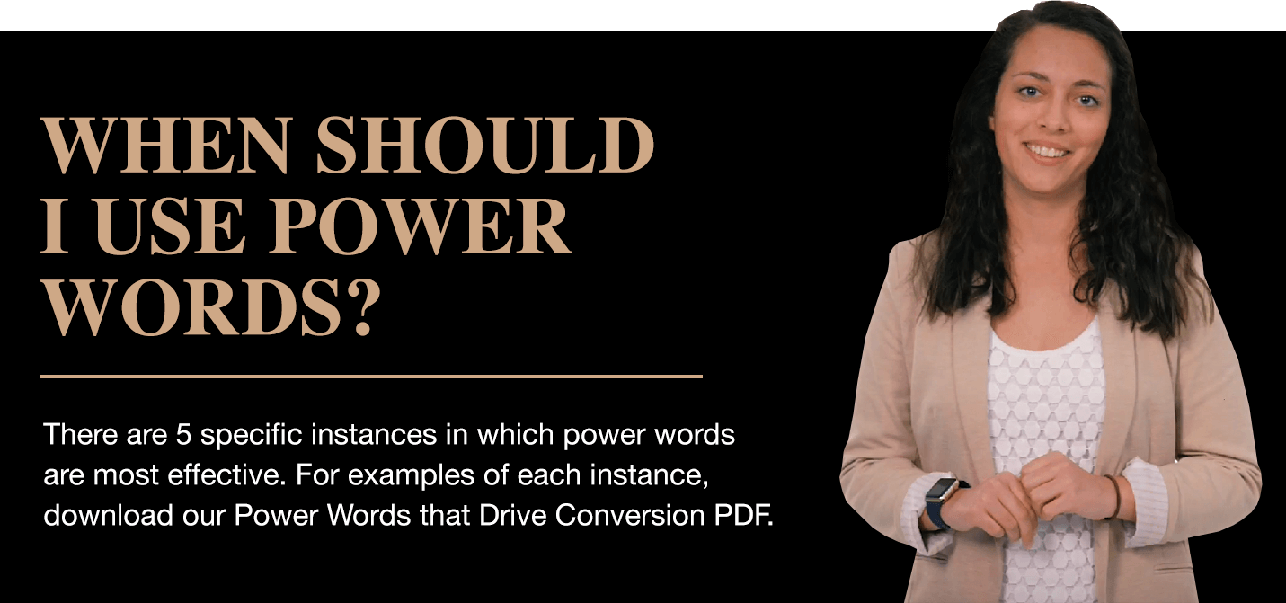When Should I Use Power Words?