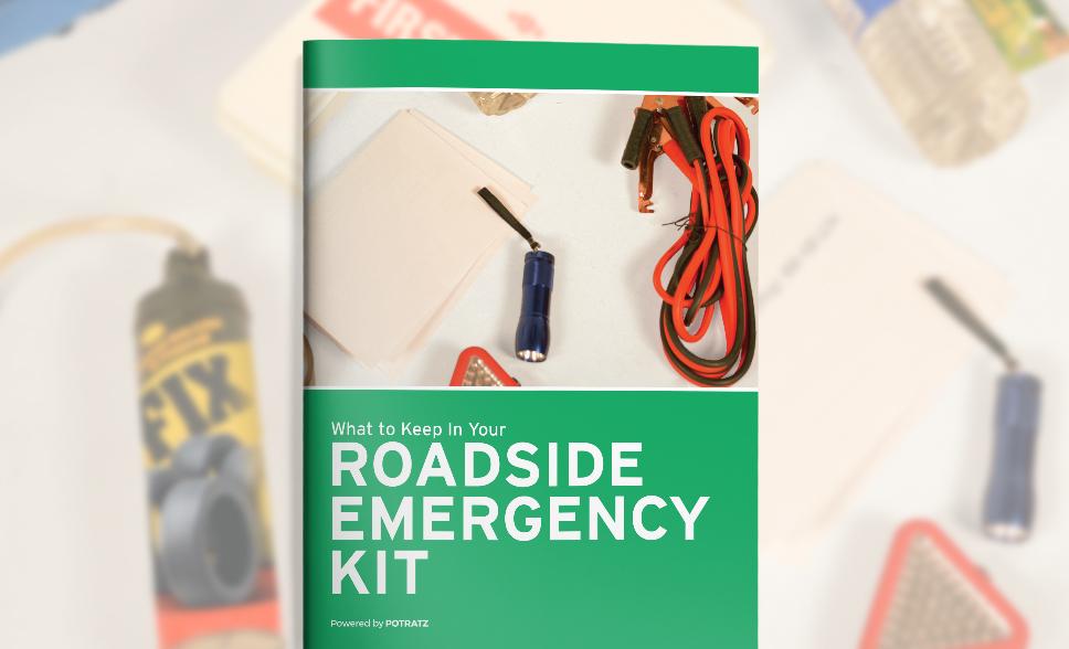 What do I keep in my Roadside Emergency Kit?