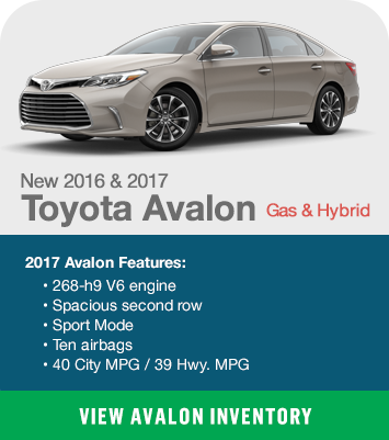 Toyota Avalon Gas & Hybrid