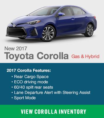 Toyota Corolla Gas & Hybrid
