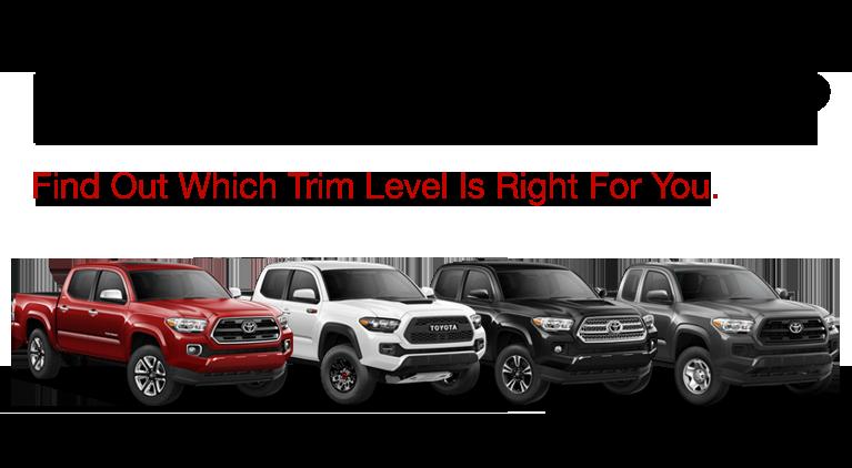 2017 Toyota Tacoma Trim Level   Reinhardt Toyota serving