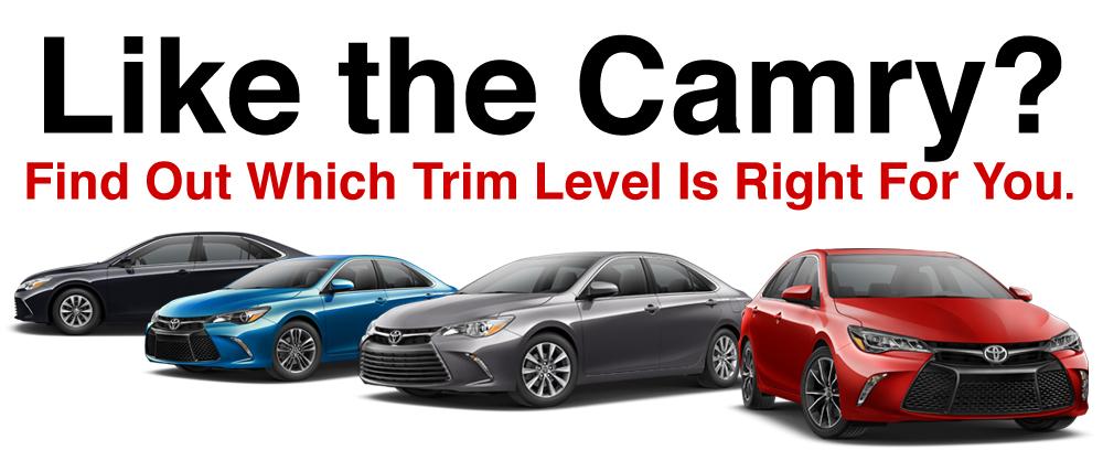 Toyota Camry Trim Levels >> 2017 Toyota Camry Trim Levels Reinhardt Toyota Serving