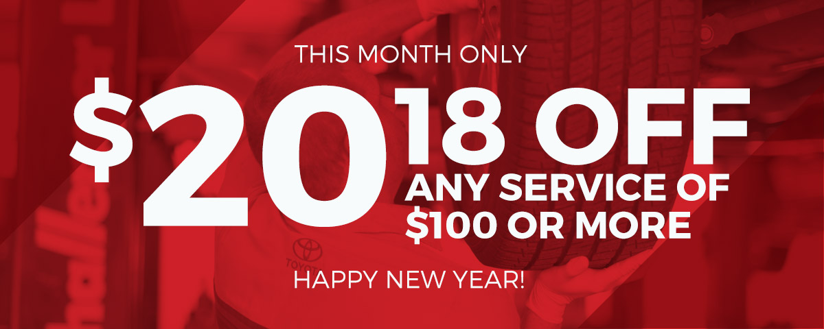 This Month Only: $20.18 Off Any Service if $100 or More