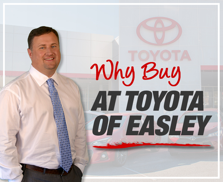 Why Buy at Toyota of Easley
