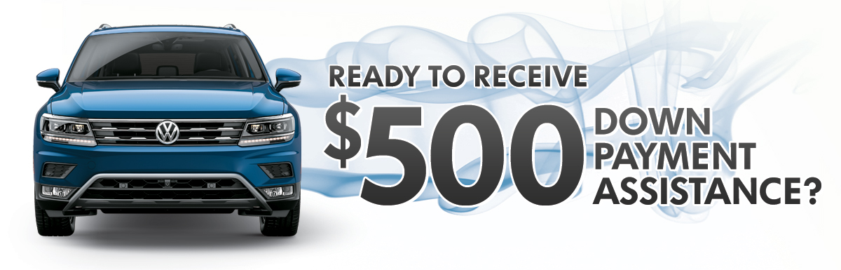 Ready to receive $500 Down Payment Assistance?